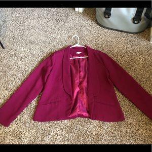 Pink Decree XL Blazer